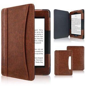 Kindle Paperwhite Case 2018, Folio Cover Leather